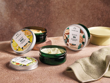 Code promo The Body Shop : -15% sur tous les produits corps et bain
