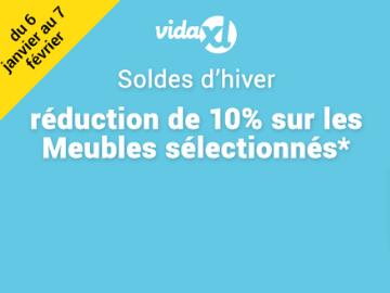 Code promo VidaXL : 10% de réduction sur une sélection de meubles