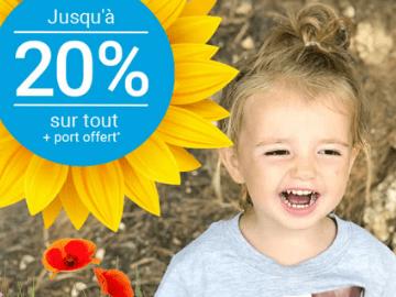 Soldes Smartphoto : 20% de réduction sur tout et frais de port offert